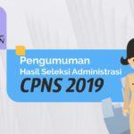 Hasil Seleksi Administrasi CPNS Kab Merangin Tahun 2019