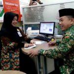 Bank BNI Syariah Merangin Diresmikan, H Al Haris  Jadi Nasabah Pertama