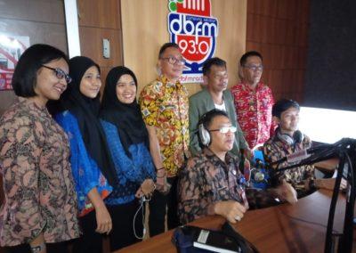 Kepala Dinas Kominfo Merangin M Arief Saat Live di Radio dbfmradio.id Lampung Selatan