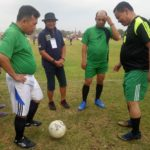 H Al Haris Bobol Gawang Renah Pamenang LC, Pada Pembukaan Turnamen Sepak Bola Pakamura Cup 2020