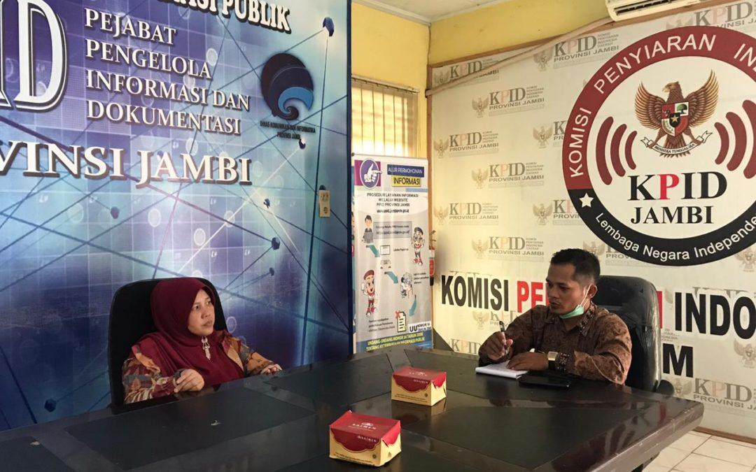 IKP Diskominfo Provinsi Jambi: Lakukan Pembinaan KIM