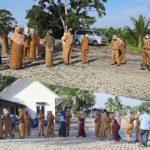 Apel Hari Pertama Masuk Kerja, Diskominfo Gelar Silaturahmi Lebaran Idul Fitri 1441 H